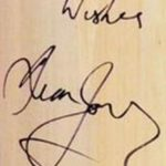 Dean Jones's Signature