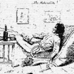 A self potrait of John Lang