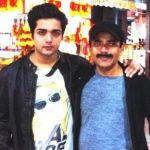 Aakarshan Singh with his father