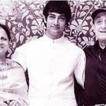 Faisal Khan parents with his brother Aamir Khan