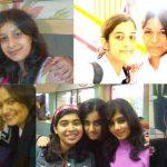 Aarushi With Her School Friends