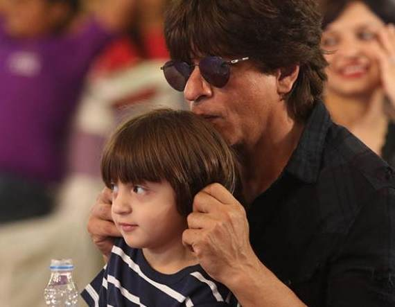 AbRam with his father Shahrukh Khan