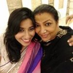 Abha Parmar with daughter