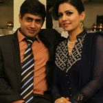 Abrar ul Haq With His Wife