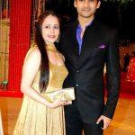 Aditya Redij with his wife Natasha Sharma