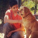 Adivi Sesh loves dogs