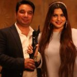 Ahmed Khan dedicating his award to his wife Shaira Ahmed Khan
