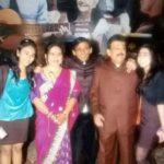 Aishwarya Rai with her family
