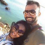Ajay Kumar Nain with his wife