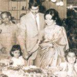 Swati Piramal and her husband in 1980s