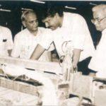 Ajay Piramal at Morarji Mills in 1980s