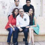Akshat Rajan with his family