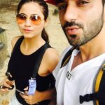 Ali Merchant with his present wife Sara Khan
