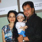 Alka Kaushal Brother Varun Badola and Sister-in-law Rajeshwari Sachdev