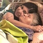 Alka Yagnik With Her Mother