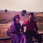 Alka Yagnik With her Husband