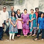 Aloknath with his family