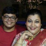 Ambika Ranjankar with her son