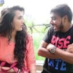Amit Bhadana with Riya Mavi