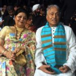 Amjad Ali Khan With His Wife