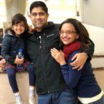 Anaitha Nair With Her family