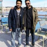 Anant Ahuja with his brother Anand Ahuja