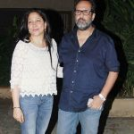 Anand L Rai with his wife
