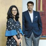 Nandini Piramal With Her Brother