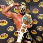 Andrade Cien Almas At CMLL Championship