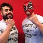 Andrade Cien Almas At WWE's Performance Center