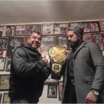 Andrade Cien Almas With His Father Brillante