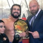 Andrade Cien Almas With Triple H