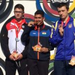Anish Bhanwala With Gold Medal At ISSF World Cup