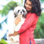 Anisha Ambrose loves dogs
