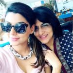 Anisha Ambrose with her mother Priya Ambrose