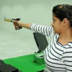 Anjum Moudgil Taking Training Through A Pistol