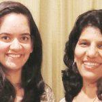 Anjum Moudgil With Her Coach Deepali Deshpande