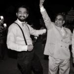 Ankit Saxena with his father Yashpal Saxena