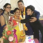 Ankita Mehra with her family