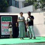 Anshul Chauhan at Institute of Home Economics to judge OPPO Times Fresh Face auditions