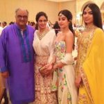 Anshula Kapoor father, stepmother, and half-sisters