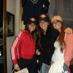Antonella Roccuzzo with her sisters