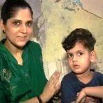 Anu Kumari with her son Rihan