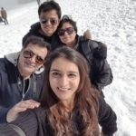 Aprajita Shrivastava with her family