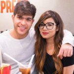 Archie Pratik with girlfriend