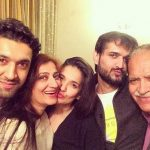 Arjun Aneja with family