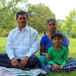 Arunachalam Muruganantham With His Daughter and Wife
