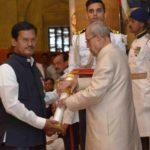 Arunachalam Muruganantham With Padma Shri