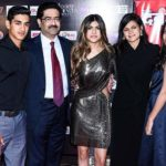 Aryaman Birla With His Father Kumar Mangalam Birla, Sister Ananya Birla, Mother Neerja Birla & Sister Advaitesha Birla