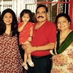 Ashima Bhalla with Parents